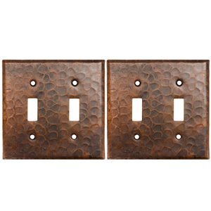 Premier Copper Products Double Wall Plate - 2 PK - Copper