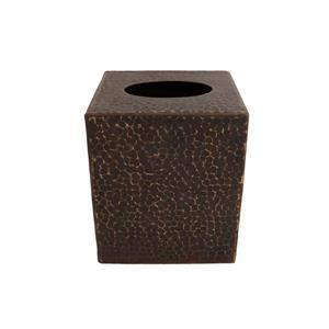 Boîte à mouchoirs en cuivre