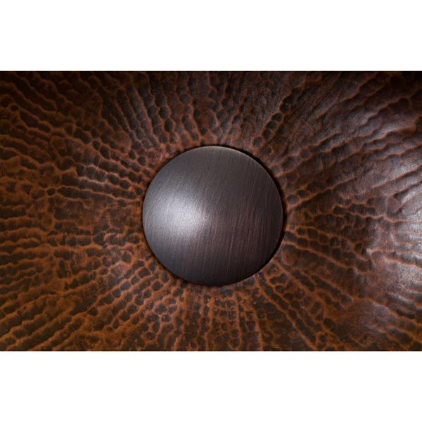 Premier Copper Products 1.5-in Non-Overflow Pop-up Bathroom Sink Drain - ORB
