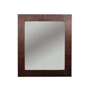 Premier Copper Products Rectangle Copper Mirror - 36-in