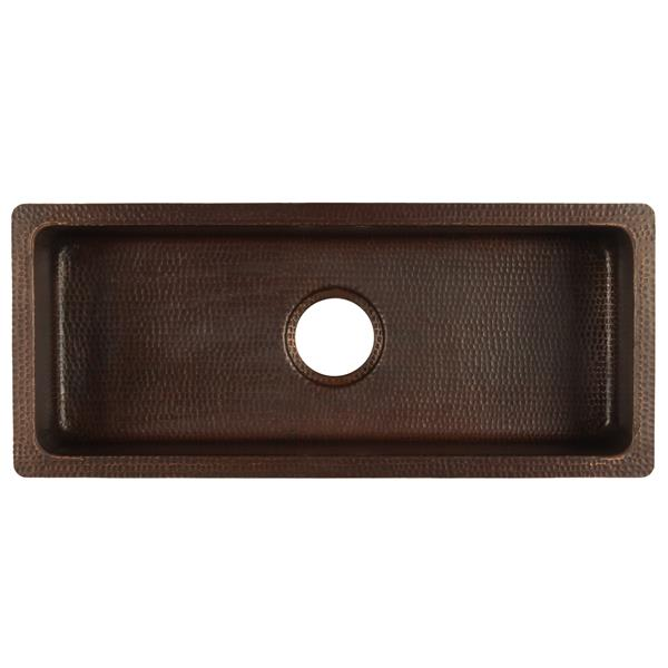 Rectangle Copper Sink - 28""