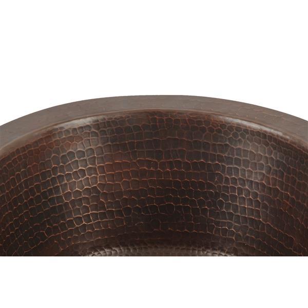 """Round Copper Sink - 12"""""""