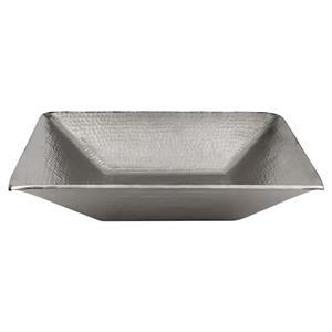 Rectangular Vessel Sink - Copper/Nickel