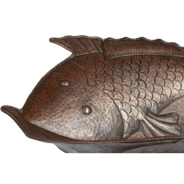 Premier Copper Products Fish Copper Sink