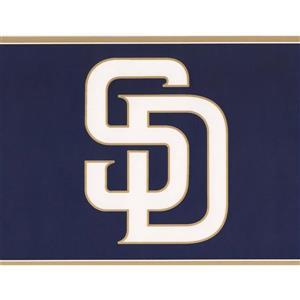 York Wallcoverings San Diego Padres MLB Baseball Wallpaper