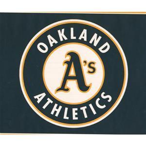 York Wallcoverings Oakland Athletics MLB Baseball Wallpaper