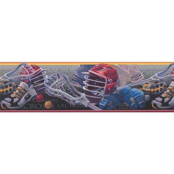 York Wallcoverings Lacrosse Sports Wallpaper