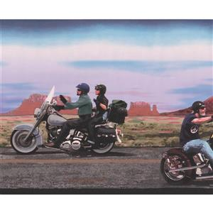 Retro Art Vintage Harley Davidson Motorcycles Wallpaper