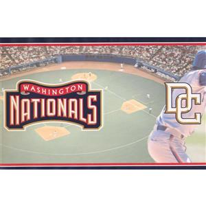 Retro Art Washington Nationals MLB Baseball Wallpaper