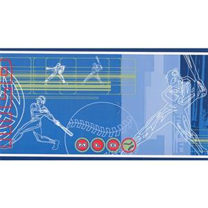 Chesapeake MLB Baseball Sports Wallpaper Border - Roll 15'