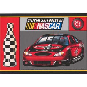 Retro Art Official Coca Cola Sponsor of NASCAR Wallpaper