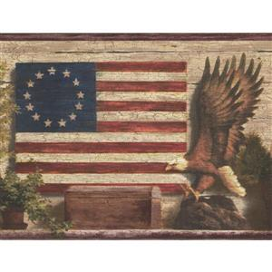 Chesapeake God Bless America Betsy Ross American Flag Wallpaper