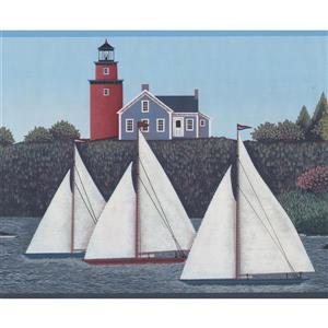 York Wallcoverings Retro Nautical Wallpaper Border