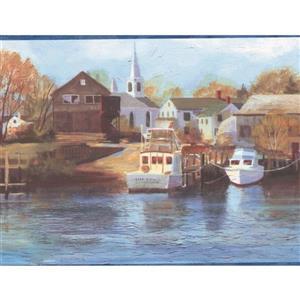 Chesapeake Marina and Yacht Club Wallpaper Border