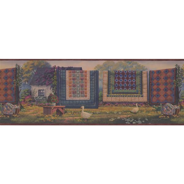 Chesapeake Carpets on the Drying Line Wallpaper Border
