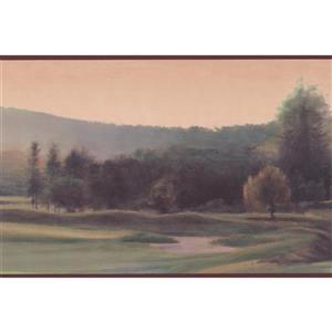 Chesapeake Mountains and Cascades Wallpaper - Green