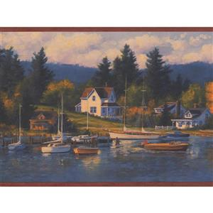 Chesapeake Vintage Yacht Club in Marina Wallpaper