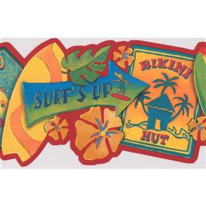 Chesapeake Tropical Beach Wallpaper Border