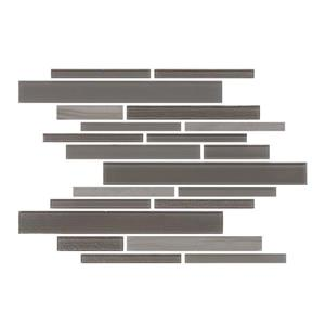 "Ceratec Lifestyle Barista  Wall Tiles - 11"" x 12"" - Glass - Mocha - 15 pcs"