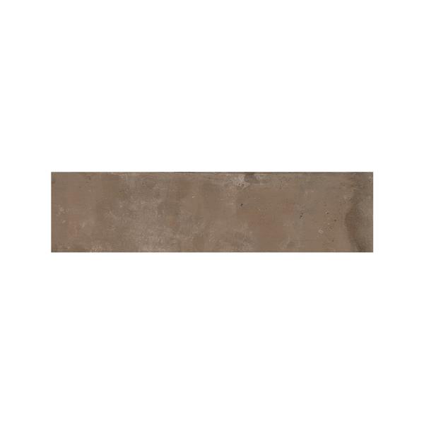 "Tuiles murales Struttura Bricklane, 2"" x 10"", porcelaine, brun, 34 mcx"