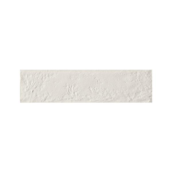 "Ceratec Struttura Bricklane Wall Tiles - 10"" - Porcelain - White - 34 pcs"