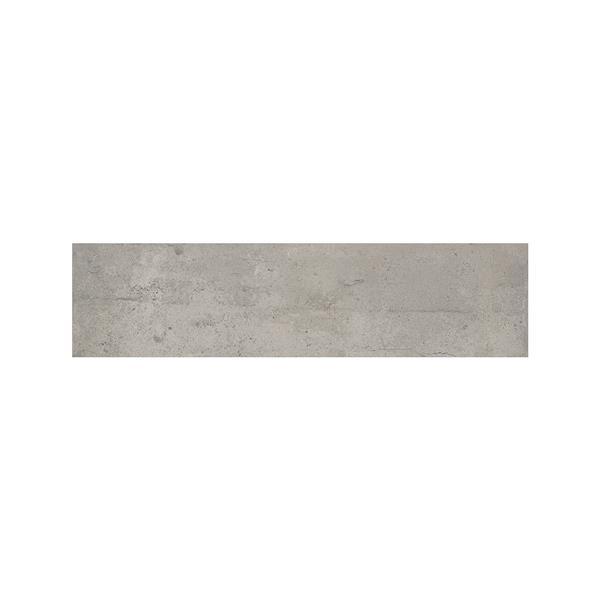 """Ceratec Struttura Bricklane Wall Tiles - 2"""" x 10"""" - Porcelain - Gray - 34 pcs"""