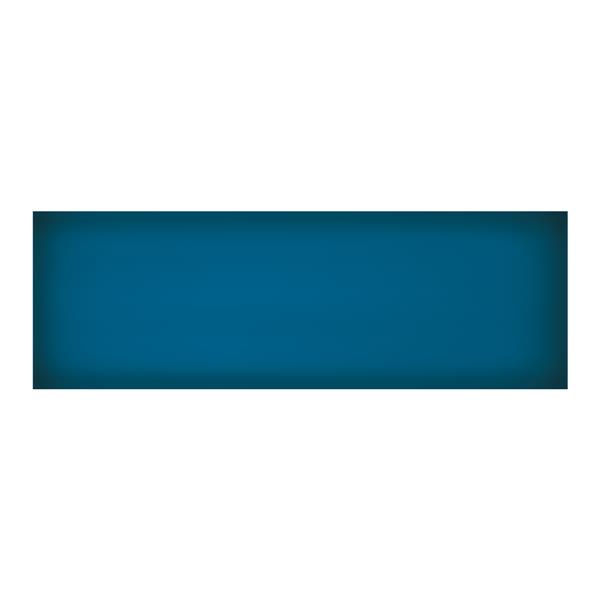 "Ceratec Iris Slide Floor Subway Tile - 8"" x 24"" - Ceramic - Blue - 10 pcs"