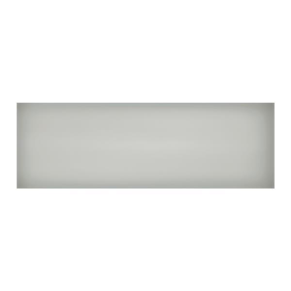 """Ceratec Iris Slide Floor Subway Tile - 8"""" x 24"""" - Ceramic - Gray - 10 pcs"""