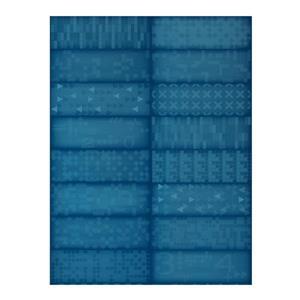 Iris Slide Floor Tiles - 8