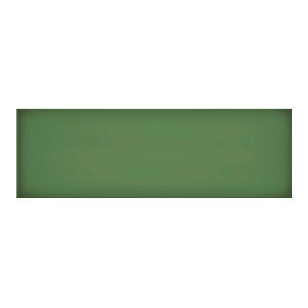"""Iris Floor Tiles - 8"""" x 24"""" - Ceramic - Emerald - 12 pcs"""
