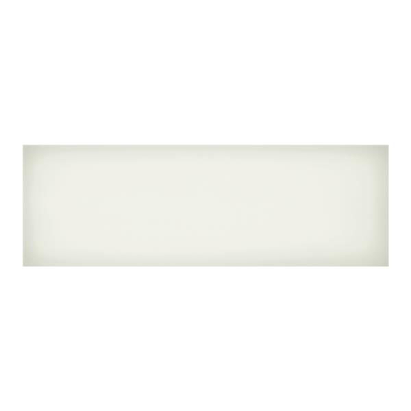 """Iris Slide Floor Tiles - 8"""" x 24"""" - Ceramic - White - 12 pcs"""