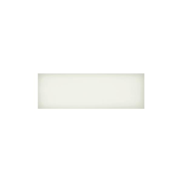 "Iris Slide Floor Tiles - 4"" x 12"" - Ceramic - White - 34 pcs"
