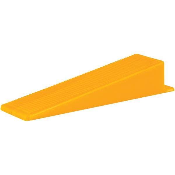 Cales pour nivelage de carreaux, orange, 100 pièces