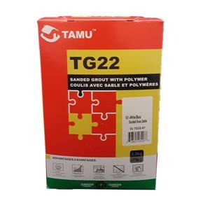 Coulis TG22 pour carreaux et de pierres poncé, blanc