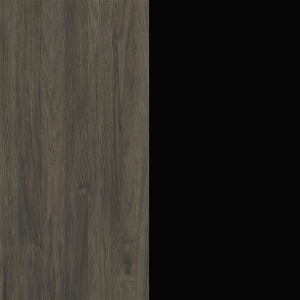 """Meuble audio-vidéo Venus de Nexera 72"""",  Écorce gris et Noir"""
