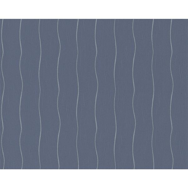 A.S. Creation Shoner Wohnen 5 Floral Wallpaper Roll - 21 -in - Light Blue