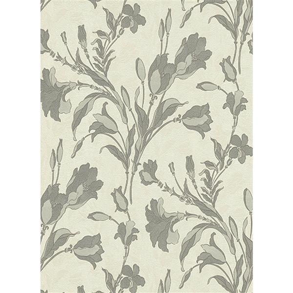 """Rubina Floral Leaves Wallpaper Roll - 21"""" - Light Green"""
