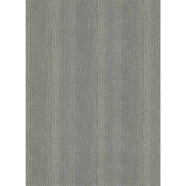 Erismann Rubina Floral Leaves Wallpaper Roll - 21-in - Gray