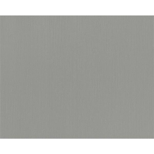 A.S. Creation Swing Line Circles Wallpaper Roll - 21 -in - Gray