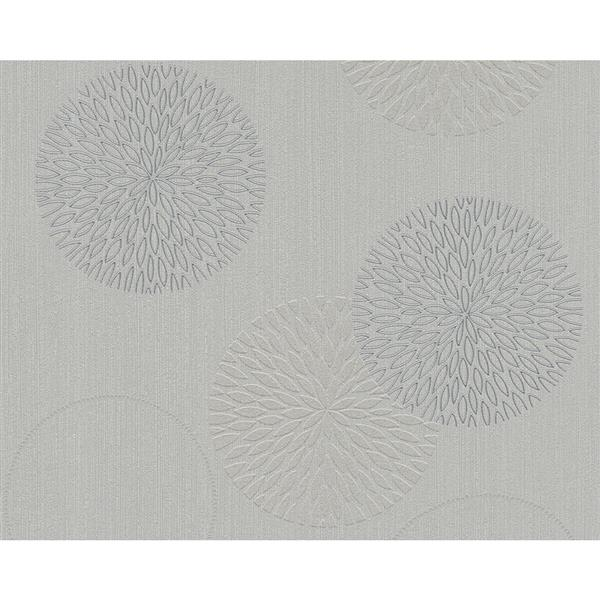 A.S. Creation Spot 3 Modern Wallpaper Roll - 21 -in - Gray
