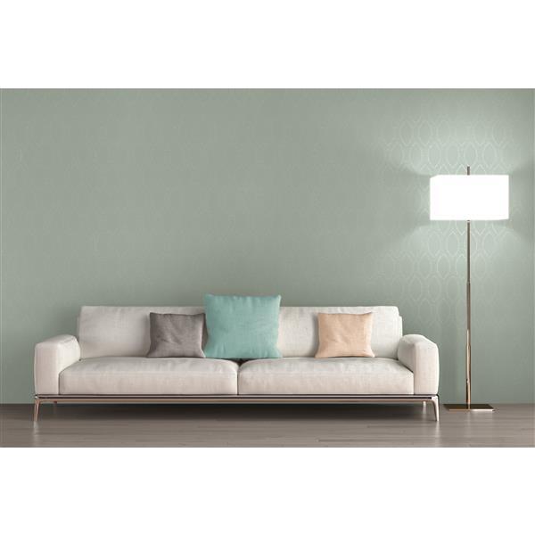 """Spot 3 Modern Wallpaper Roll - 21"""" - Green"""