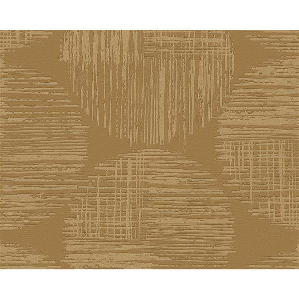A.S. Creation Spot 3 Modern Wallpaper Roll - 21 -in - Yellow