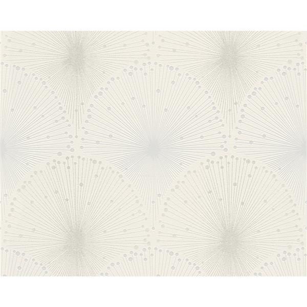 A.S. Creation Spot 3 Modern Wallpaper Roll - 21 -in - Off-White