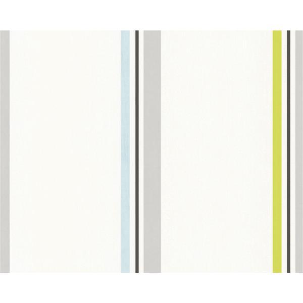 A.S. Creation Schoener Wohnen 4 Romantic Wallpaper Roll - 21 -in - White