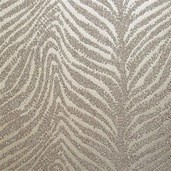 design id Modern Abstract Wallpaper Roll - 21-in - Beige/White