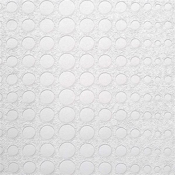 design id Modern Abstract Wallpaper Roll - 21-in - White