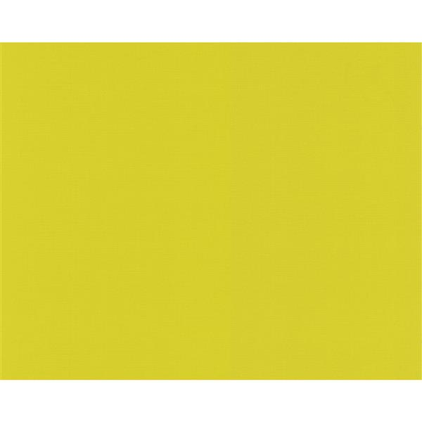 A.S. Creation Modern Abstract Wallpaper Roll - 21-in - Dark Lime Yellow