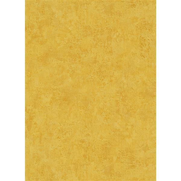 Erismann Classic Floral Wallpaper Roll - 21-in - Mustard/ Yellow