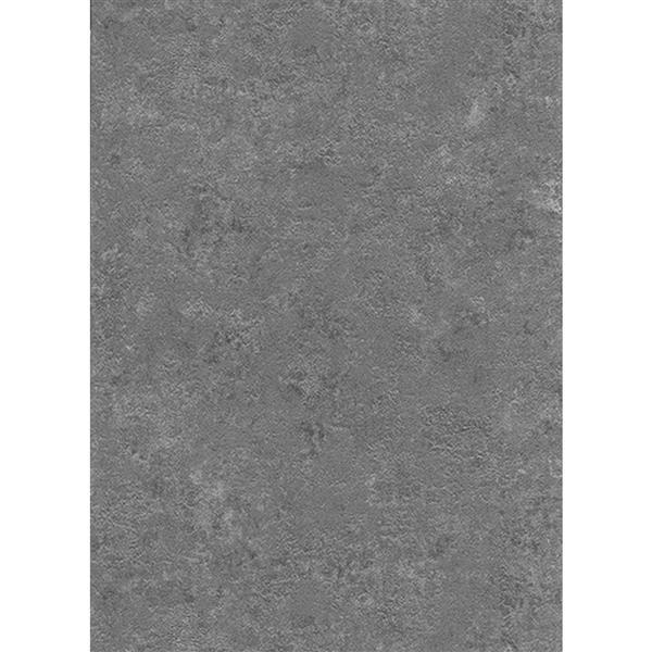 Erismann Classic Floral Wallpaper Roll - 21-in - Dark Gray