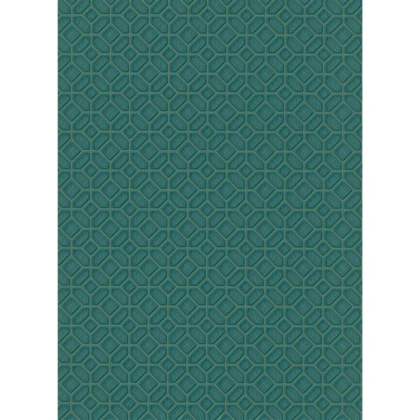"Futuristic Wallpaper Roll - 21"" - Green"